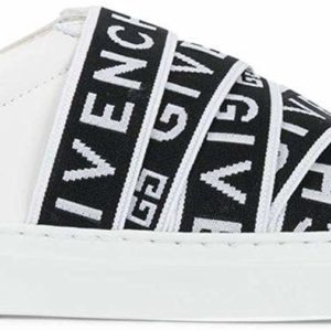 Givenchy Luxury Fashion Women's Black and White Slip-On Sneakers Designer Shoes