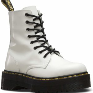 Dr. Martens White Boot Baddie Style