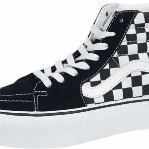 Vans Sk8-Hi Platform 2 Suede Canvas Shoes