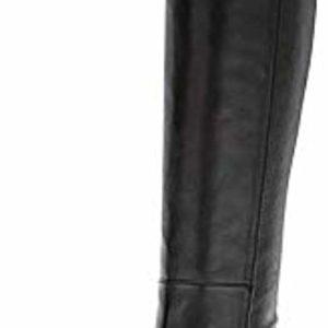 Stuart Weitzman Eloise 75 Black Leather Knee Tumblr Boots