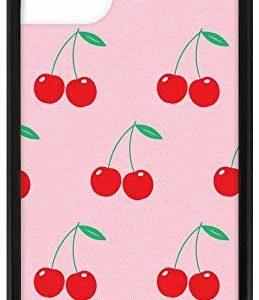 Wildflower Pink Cherries Case iPhone 11 Girly Stylish Cases