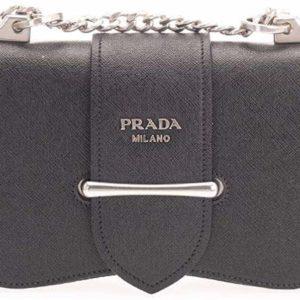 Prada Women's Shoulder Luxury Fashion Black Bag