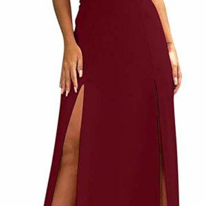 Women's Sexy Sleeveless Backless Cocktail Long Dress