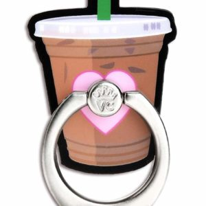 Mobile Phone Ring Holder Iced Coffee Smartphone Grip