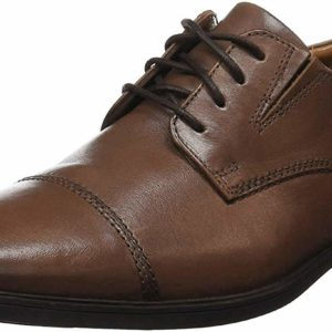 Men's Classic Formal Traditional Brown Oxford Leather Shoes