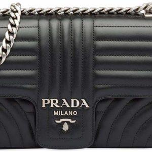 Luxury Fashion Prada Women's Black Shoulder Bag