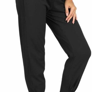 Women's Business Causal High Waisted Black Classy Pants