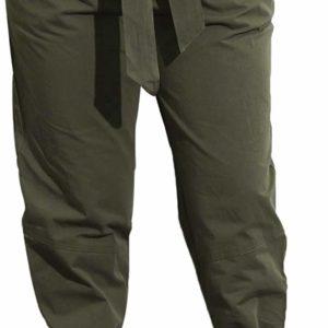 Women's Business Causal High Waisted Green Classy Pants