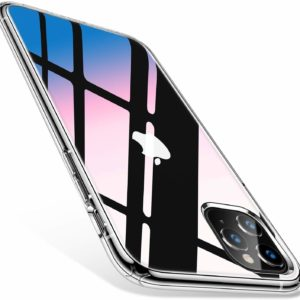 iPhone 11 Pro Max Transparent Hard Silicone Protective Case