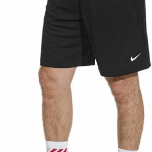 Men's Nike Dry Training Athletic Casual Long Black Shorts