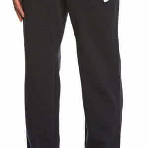Nike Men's Swoosh Black Sweatpants Fleece Cuff Pants