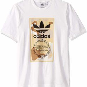 adidas Originals Men's White Graphic Tee
