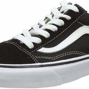 Vans Old Skool Black Low-Top Sneakers