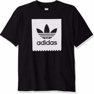 adidas OriginalsMen's Black Graphic Tee Skate Blackbird T-Shirt