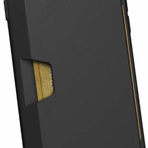 iPhone 6/7/8 Wallet Black Silk Case Credit Card Holder