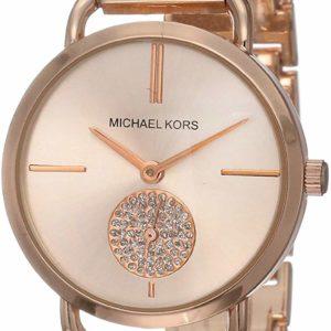 Michael Kors Women's Portia Watch Quartz Rose Gold Watch