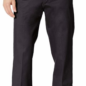 Men's Classy Formal Black Stretch Relaxed Pants