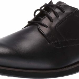Men's Classic Formal Traditional Black Oxford Leather Shoes