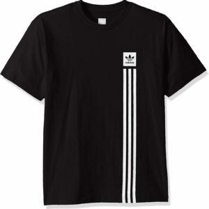 adidas Originals Men's Skate Black Tee Blackbird Pillar T-Shirt