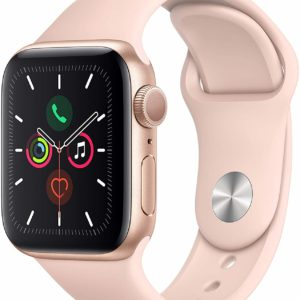 Ladies Apple Watch Series 5 Pink Sport Band