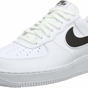 Nike Air Force 1 Black and White Street Style Sneakers