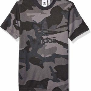 adidas Originals Men's Grey Camo Tee Summer Style T-Shirt