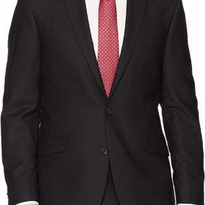 Men's Slim-Fit Black Suit Jackets Blazers Business Classy Style