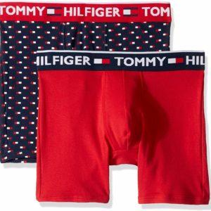 Tommy Hilfiger Men's Underwear Boxer Briefs 2 Pack