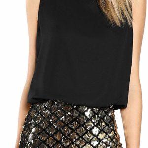 Women's Sexy Fashion Club Wear Party Night Sparkle Dress