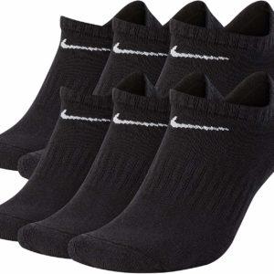 Nike Black Casual Tumblr No Show Socks 6 Pair