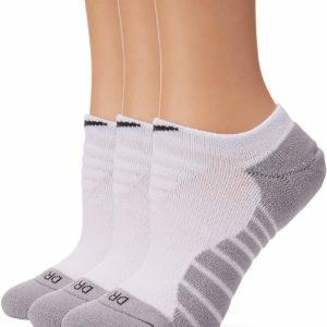 Nike Women' No Show White Training Socks 3 Pair