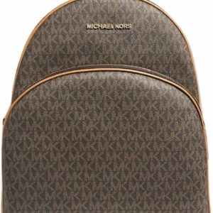 Michael Kors Women's Abbey Large Brown Backpack