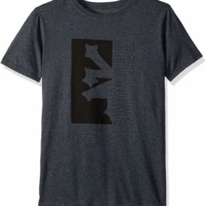 Zoo York Grey Graphic Tee Boys' Big Short Sleeve T-Shirt