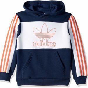 adidas Originals Hoodie Boys' Big Outline Hooded Sweatshirt