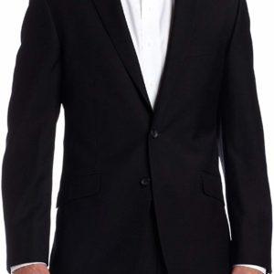 Men's Slim Black Suit Jackets Blazers Business Classy Style