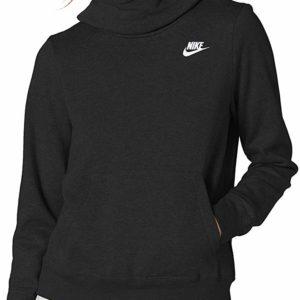 Nike Women's NSW Black Fleece Hoodie Varsity Hooded Sweatshirt