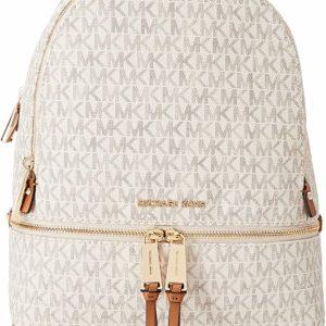 Michael Kors Rhea White Backpack Fashion Handbag