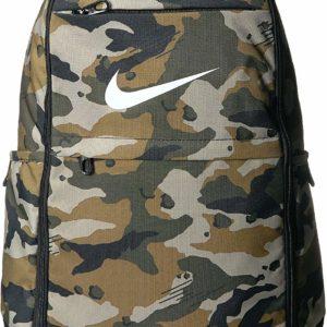 Nike Brasilia All Over Print Backpack Camo Stylish School Bag