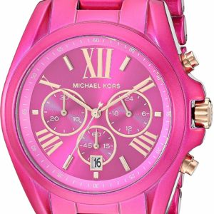 Michael Kors Women's Chronograph Pink Stylish Watch